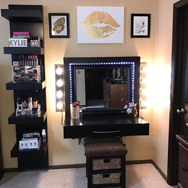 Elegant Cute Makeup Vanity Room / Only Me 💋💚💟💖✌✓👌💙💚 Xoxo