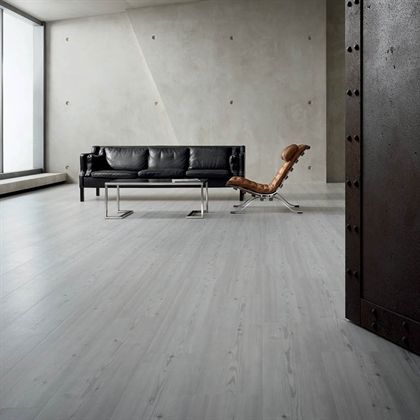 Floor: Mannington Commercial, Vinyl Tile, Series: Amtico   Wood, Color:  Limed Grey Wood Available In 72 Colors