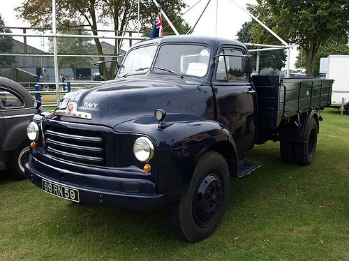 Bedford Royal Navy truck