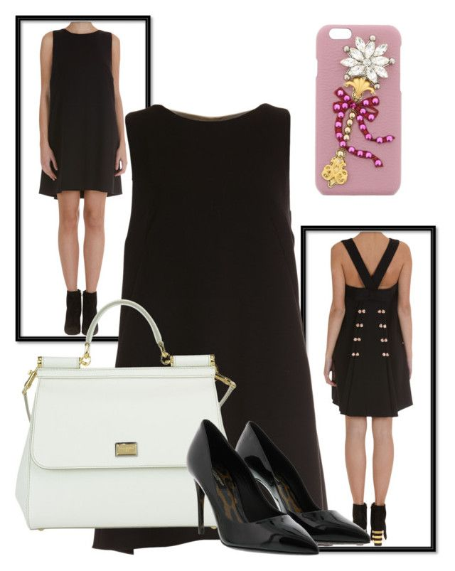 """Dolce&Gabbana Elegance"" by brunarosso-eshop on Polyvore featuring moda e Dolce&Gabbana"