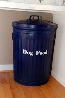 Dog Food Storage Container For The Big Dogs   Simple U0026 Cheap