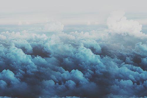 grafika clouds, blue, and sky