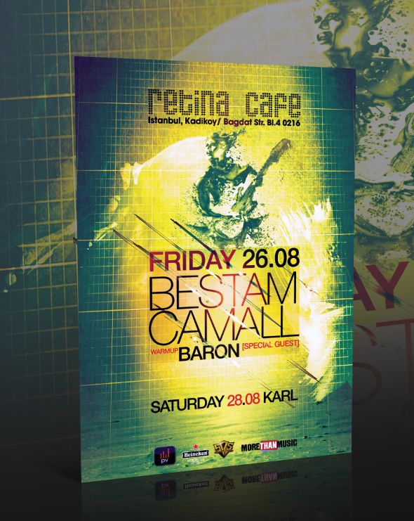 Event Flyer Template -PSD- by bicirique.deviantart.com on @deviantART