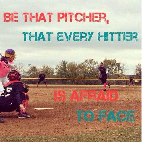 ⚾️Be that pitcher, that every hitter is afraid to face⚾️