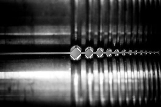 Roller machine, Benjamin Black Goldsmiths #jewellery