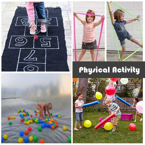 some activity ideas to help get the kids moving this summer the kids would love three year olds3 - Colour Games For 3 Year Olds