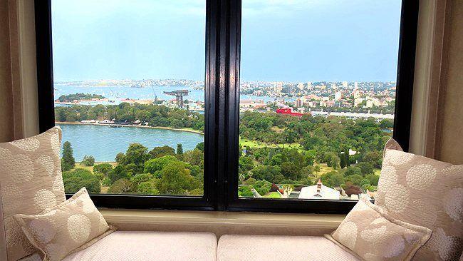 Australia suite at the Intercontinental Sydney