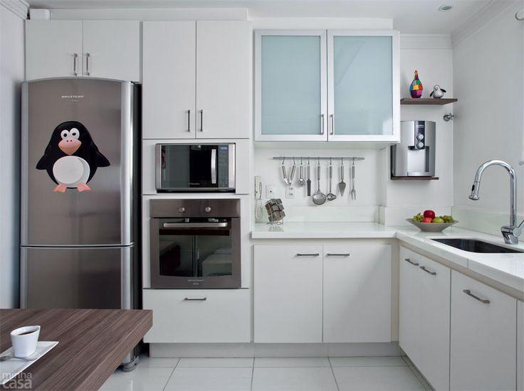 Antes e depois: cozinha e lavanderia em 8 m² - Casa