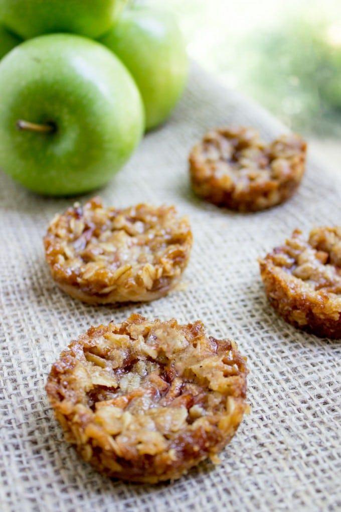 Apple Crisp Cookies