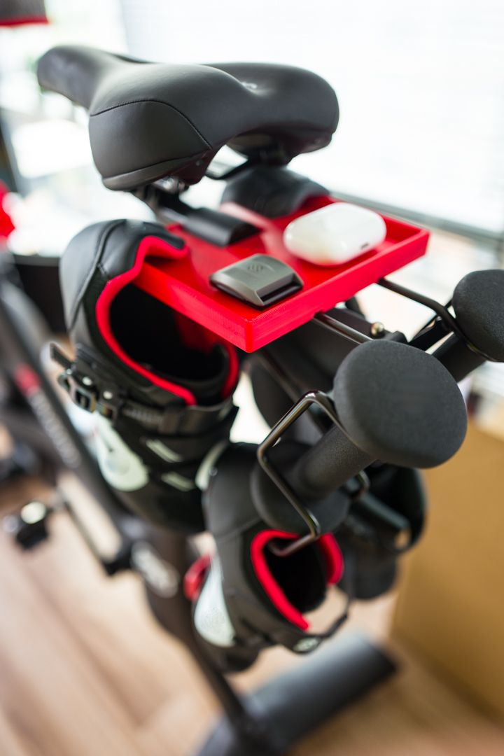 Seat Tray Plus Shoe Hanger Phone Holder For Peloton Shoe Hanger Peloton Bike Peloton