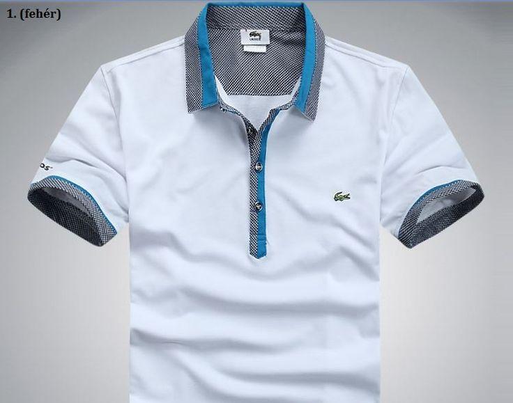 Lacoste férfi pamut pólóing,10 színben, 5 méret! - Vatera.hu