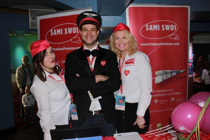 Nasz team Sami Swoi podczas 23 Finału WOŚP w Crewe. Pomagamy w największym sztabie w UK. Siema kochani:-)