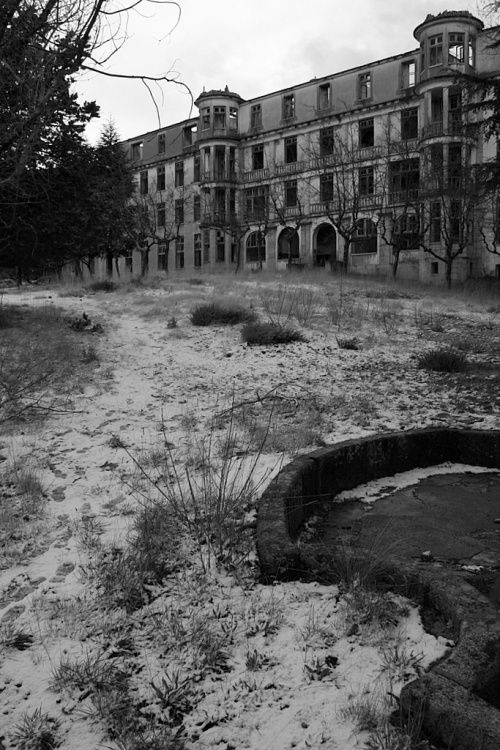 Sanatório - Covilhã Portugal i've been here very creepy...