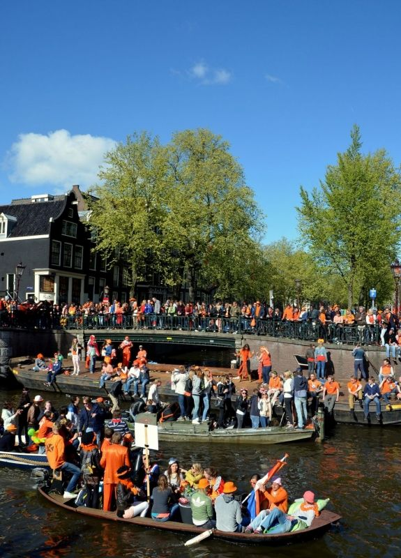 Kingsday Celebrations in Amsterdam