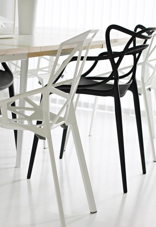 Via Nordic Leaves | Kartell Masters Chair + Chair One