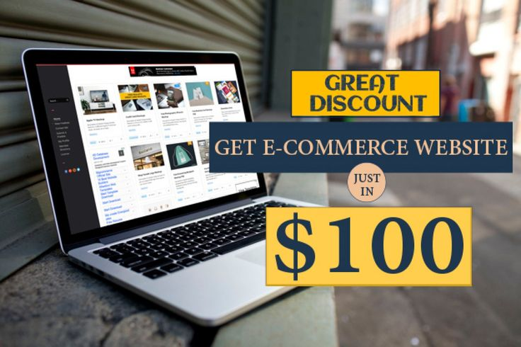 Now Get #ECommerceWebsite In Just 100 USD We are offering you great discount deal to help you grow your business through e-commerce website. Place Your Order Here 👉 https://goo.gl/TznR1I #DiscountECommerceWebsite #BestECommerceWebsite