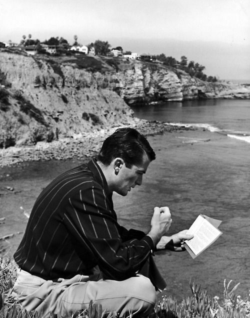 Write great letters. Read in inspiring places. Gregory Peck reading.