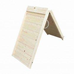 Rampa per cani pieghevole in legno