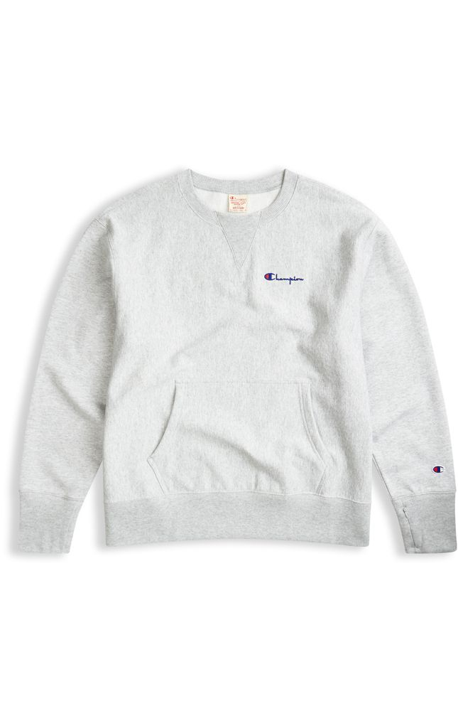 2338558d5da2 Image for Oversized Deconstructed Reverse Weave Sweatshirt from Champion