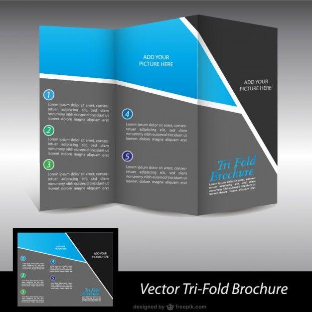 Product Brochure Template Word: Brochura Livre Gráficos Vetoriais