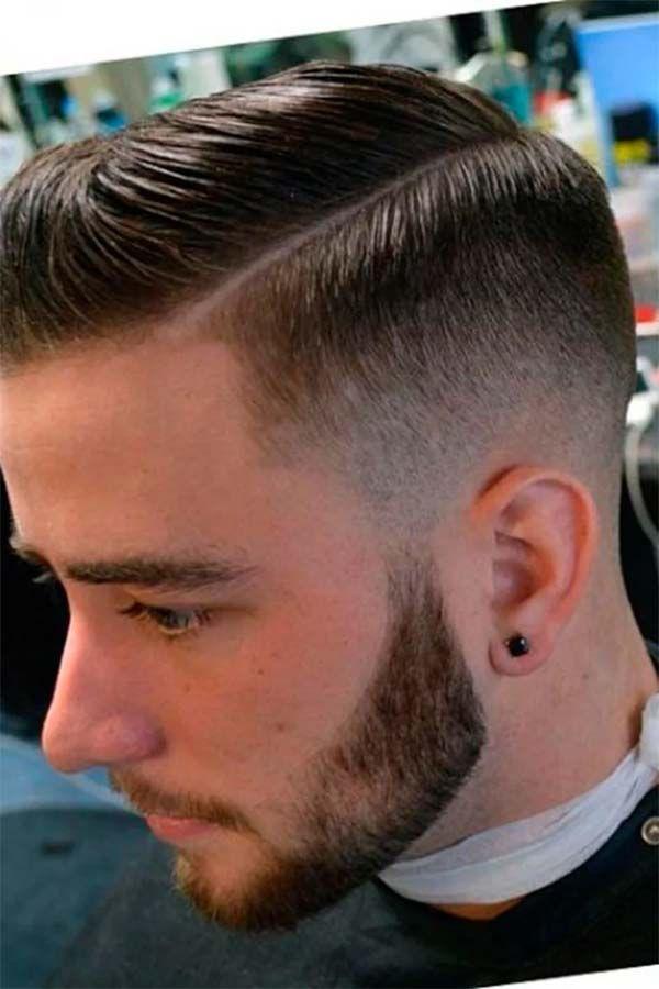 Man Simple Hair Style Mens Haircuts Fade Fade Haircut Taper Fade Haircut