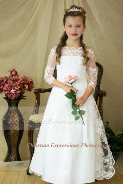 First Communion Dresses-8020 - First Communion Dresses by Christian Expressions