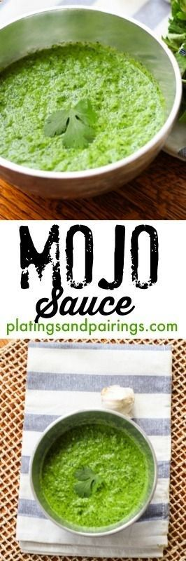 Mojo Sauce - The Perfect Topping for Seafood, Chicken, Steak, Roasted Veggies... !!! platingsandpairin...