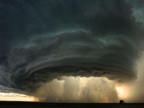 I am always amazed at the art that is made by weather.