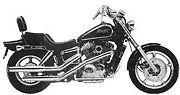1987 Honda Shadow 1100
