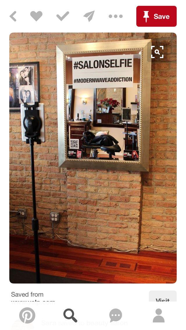 Friseursalon, Salon Design, Friseursalons, Nette Ideen, Friseurladen,  Selfie, Bankett, Wave Salon, Small Salon