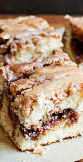 Cinnamon Roll Cake from scratch