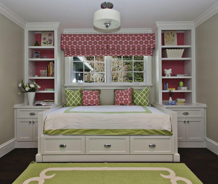 Fiorella Diseño - Habitaciones de niña - en crudo, paredes, verde, alfombra, marfil, frontera, verde, enrejado, almohadas, rosa, almohadas, juego, rosa, aduana, cortina romana, blanco, ropa de cama de hotel, costura verde, blanco, armarios , sofá-cama, cajones, blanco, muebles empotrados, forrados, rosa, papel, rosa y niñas verde ambiente, de color rosa y las niñas verdes dormitorios, rosa y sala verde ideas, color de rosa y las niñas verdes dormitorios ideas, alfombra verde, manzana verde…