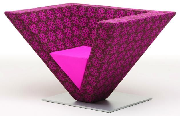 The Pyramid Chair by Karim Rashid