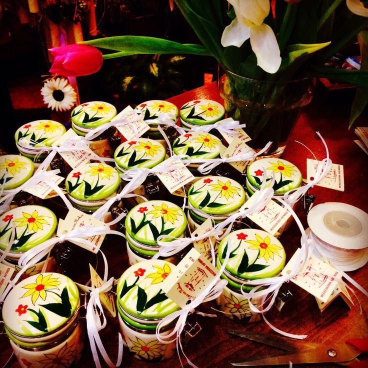 Μπομπονιέρα Βάπτισης με μέλι και καρύδια! (Απρίλιος 2014)