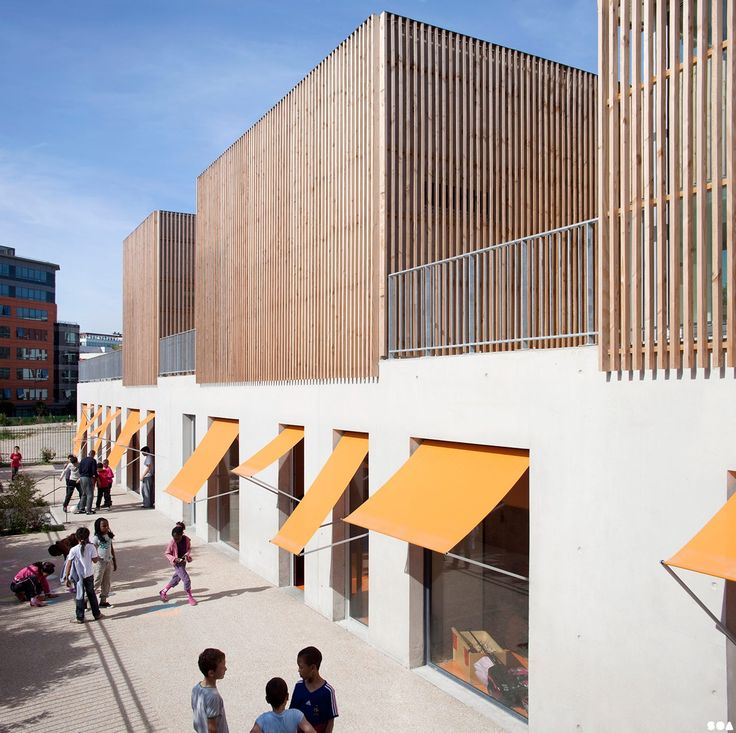 SOA Architects Paris  Projects  Gavroche centre for children