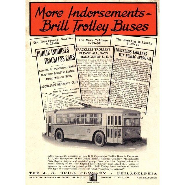 Alle Größen   #Trackless #trolley #electric #trolley #coach #bus #streetcar #america #transit #history   Flickr - Fotosharing!