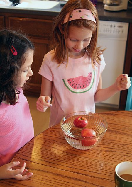 Prediction: Will apples sink or float?