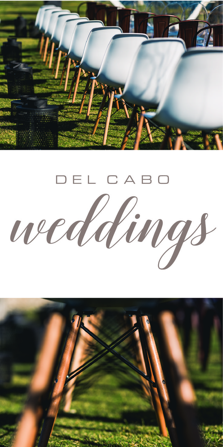 Modern décor in your beach destination wedding! Check out our board for more unique ideas and get the inspiration you need!