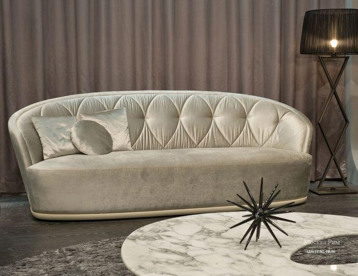Диван Allen от итальянского производителя Ipe Cavalli. Каркас выполнен из древесины, обивка - текстиль из ассортимента компании. Двухместная или трехместная модель предназначена для гостиной в дизайнерском стиле. Цветовая гамма: серебристый.
