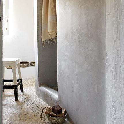 Kiezels badkamer