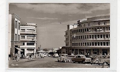 ADDIS ABABA: Ethiopia postcard (C26858)
