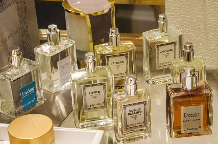 and the IL PROFUMO perfumes collection