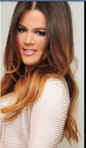 Khloe Kardashian Hair  Beauty  Pinterest  A Love Colors And Love It