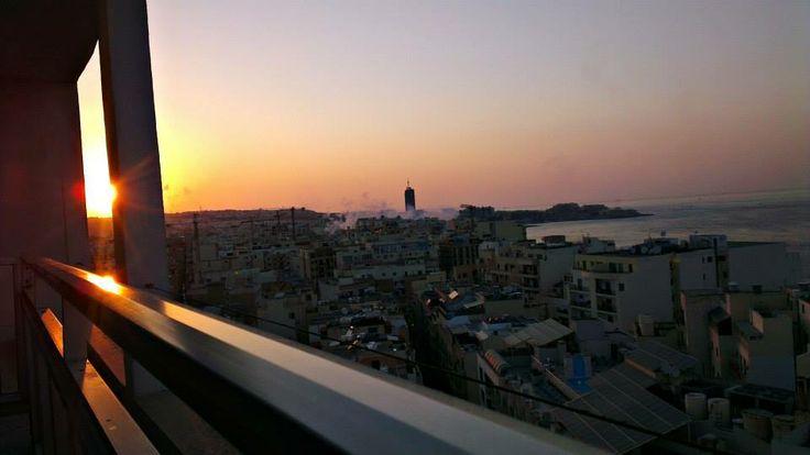 Malta, Preluna Hotel, Skyroom 13th floor 2013