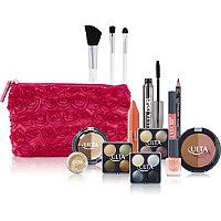 ULTA - FREE 15 pc gift w/any $19.50 select Ulta brand purchase in Pink Cosmetic Bag #ultabeauty <3
