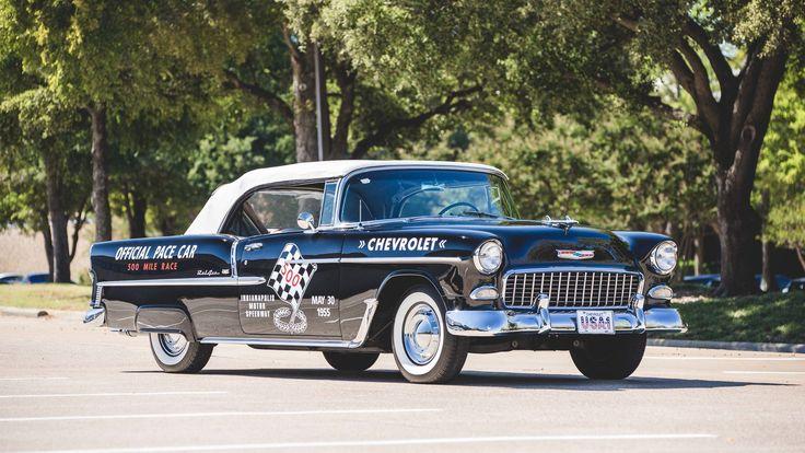 1955 Chevrolet Bel Air Convertible presented as Lot S123.1 at Dallas, TX