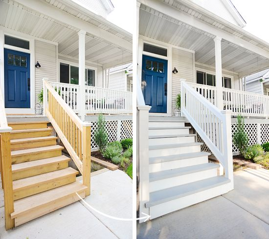It Only Took Us A Year Painting The Exterior Stairs Hmmm Pinterest And