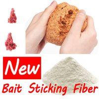 1 Bag 30g Asia Secret Protein Fiber Sticker Fishing Bait Additive Material for Pole Fishing Carp Fishing Condition Bait Sticking