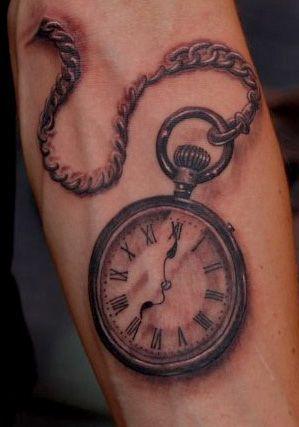 Old Fashioned Clock Tattoo   www.imgarcade.com - Online Image Arcade!