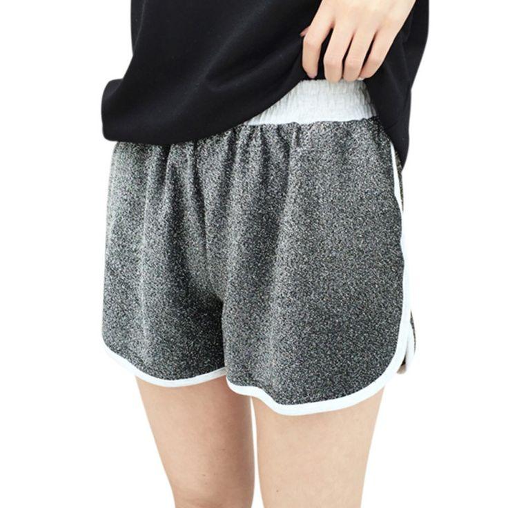 2017 Women Summer Shorts Leisure Elastic Waist Shorts Soft Women Feminine tenis feminino #Affiliate
